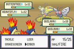 Pokemon Eruption (beta 2.1) - double trouble - User Screenshot